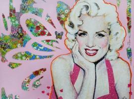 Pink Glam (100x81cm)