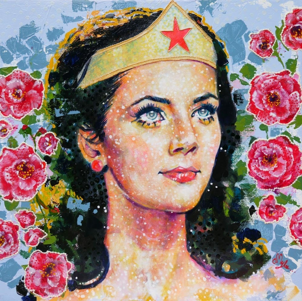Wonder Woman (50x50x2cm)