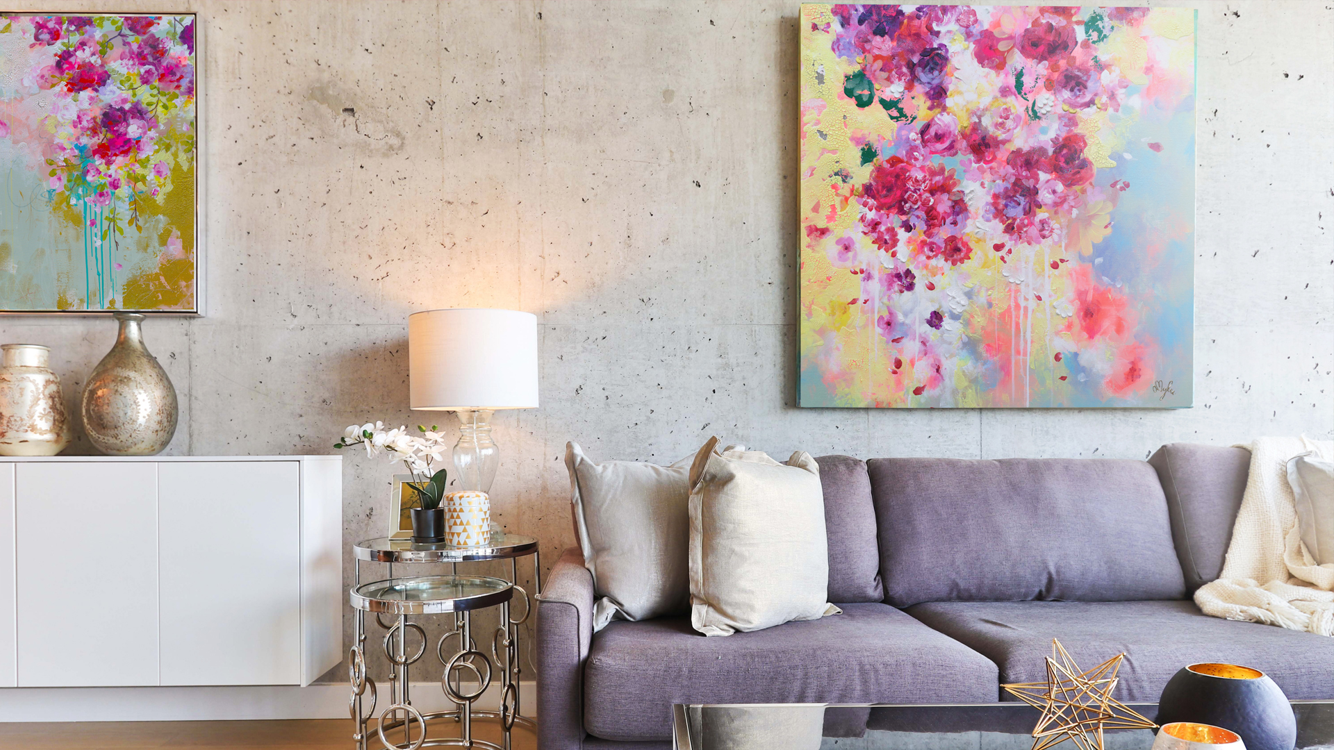Living with Art - Vibrant