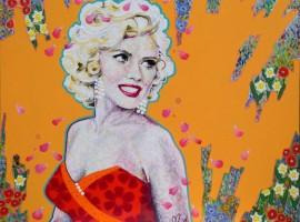 Lovely Monroe (81x65cm)