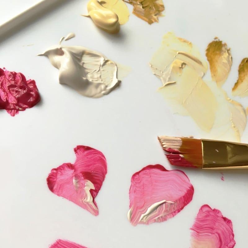 paint palette artist colours