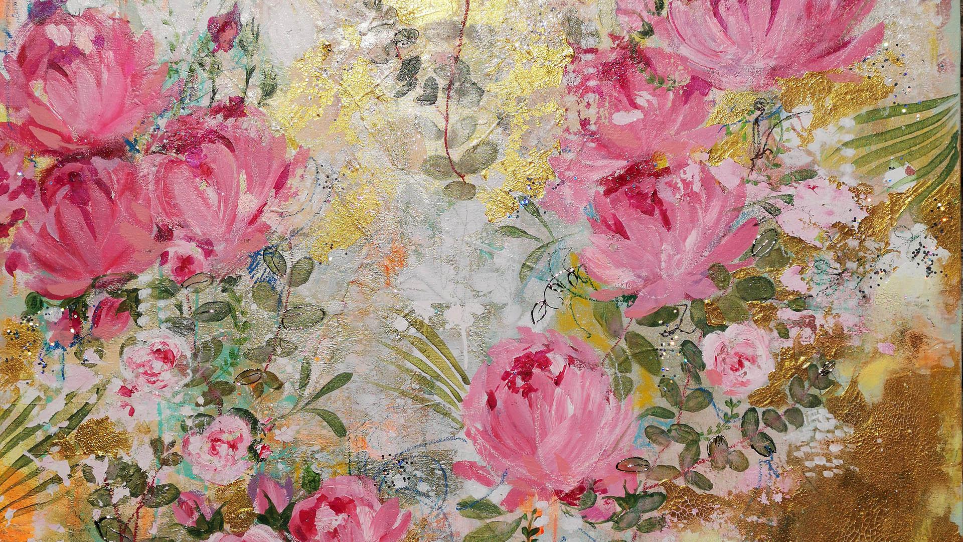 Pleasure - 120 x 120 cm