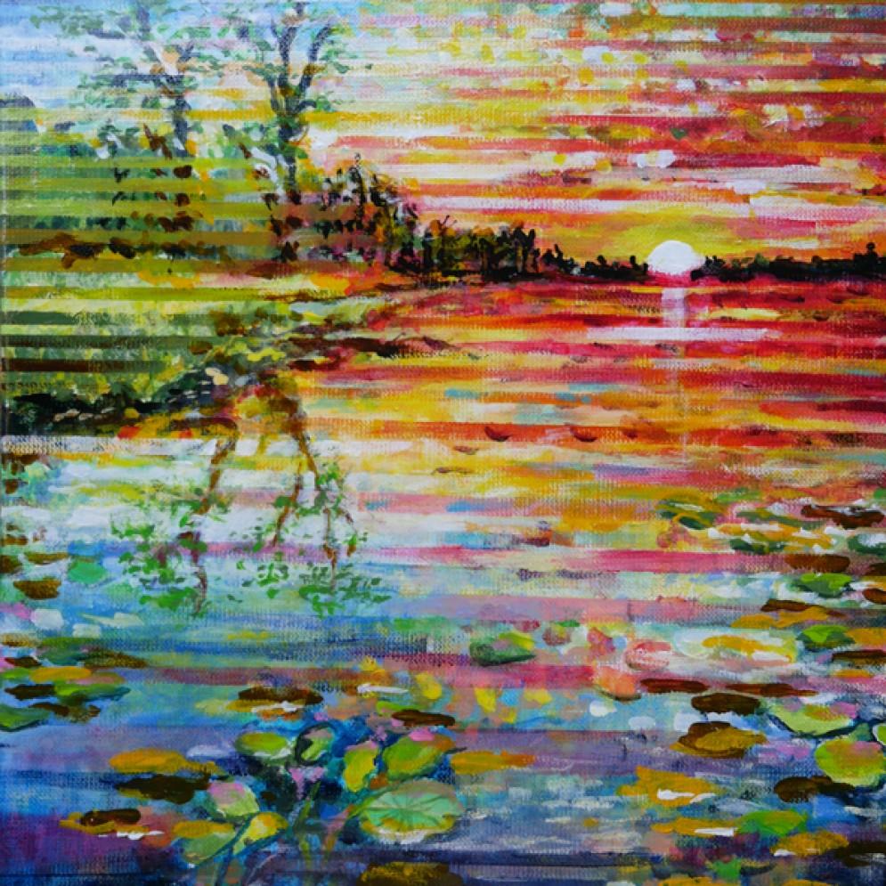 Sunset (30x40x2cm)