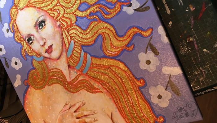 amylee-tableau-couleurs-portrait-femme-artiste