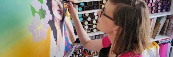amylee peinture tableau