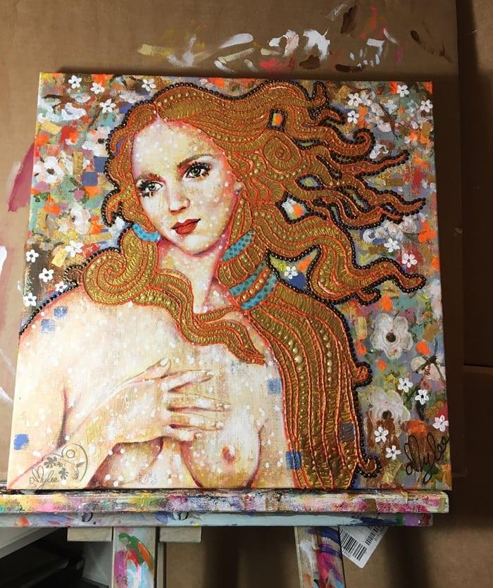 tableau-atelier-artiste-femme-portrait