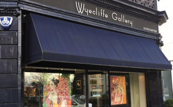 Mes tableaux aux Galeries Wyecliffe
