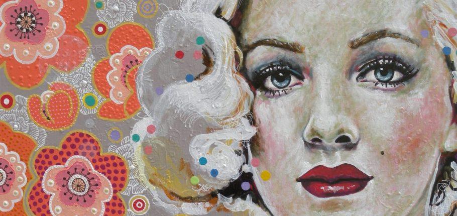 Beauty Pop 146 x 97 cm
