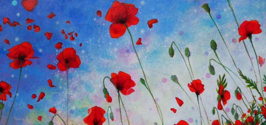 Poppies 130 x 89 cm