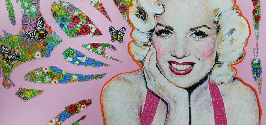 Pink Glam 100 x 81 cm
