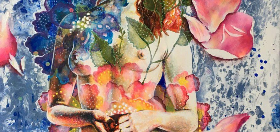 Belleza in Fiore 100 x 80 cm