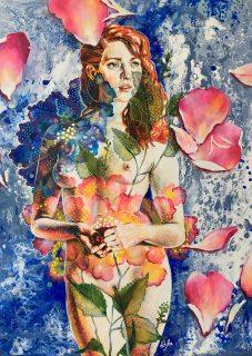 Belleza In Fiore - 100x80 cm