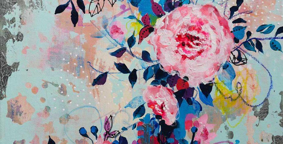 Flowery - 50x40 cm
